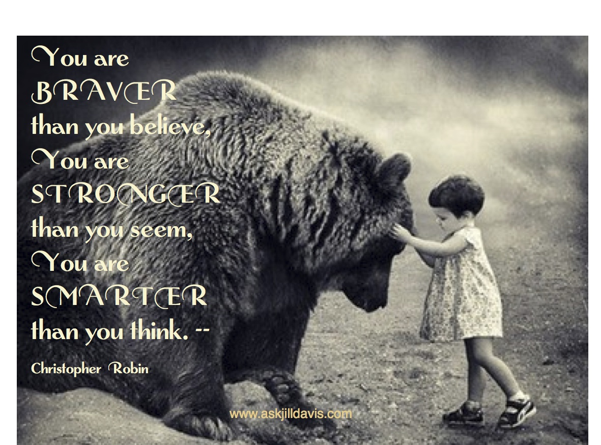 Christopher Robin Quotes Braver Quotesgram
